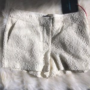 Cynthia Rowley lace shorts